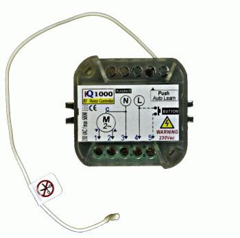 Ηλεκτρονικός πίνακοδέκτης ελέγχου για ρολά Autotech iQ-1000