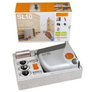 Μοτέρ για συρόμενες γκαραζόπορτες έως 500kg mhouse SL10 Kit