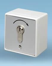 Κλειδοδιακόπτης μεταλλικός μίας εντολής GEBA MS-APZ 1-1T/1