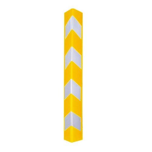 Πλαστική γωνιά προστασίας μήκους 80cm κίτρινη ΥCG-80