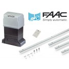 Μοτέρ για συρόμενες γκαραζόπορτες έως 1800 κιλά FAAC 844 Basic Kit