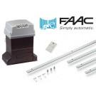 Μοτέρ για συρόμενες γκαραζόπορτες έως 600 κιλά FAAC 746 Basic Kit