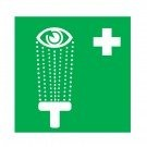 """Πινακίδα διάσωσης αλουμινίου """"Πλήση Ματιών"""" SD-11"""