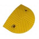 Σαμαράκι ακριανό με μήκoς 17.5cm x πλάτος 35cm x ύψος 5cm κίτρινο KSR-215-EY