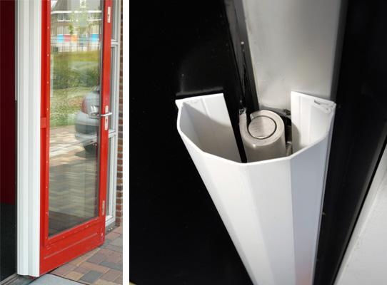 Πλαστικά τελειώματα για πόρτες