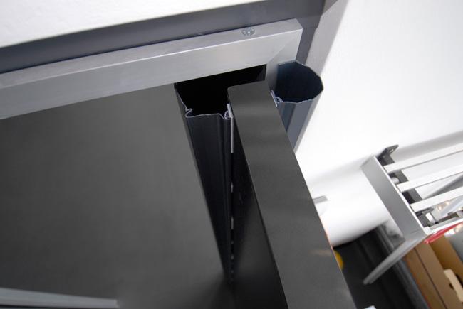 Εύκαμπτα πλαστικά προστατευτικά χεριών για πόρτες