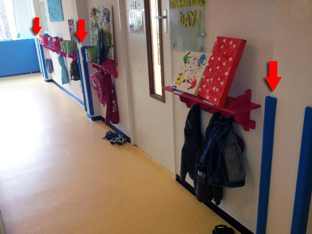 Γωνιές προστασίας σε παιδικό σταθμό