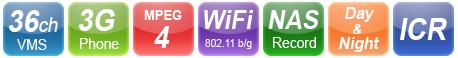 wifi ip κάμερα starvedia με υπέρυθρες ir led