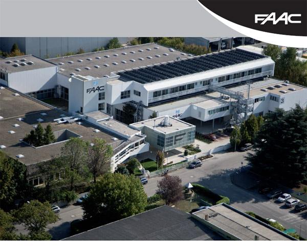 Εγκαταστάσεις της εταιρείας FAAC