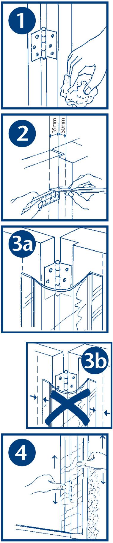 FINGERSTOP - Οδηγίες εγκατάστασης