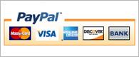 Δεχόμαστε πληρωμές με πιστωτικές κάρτες και PayPal