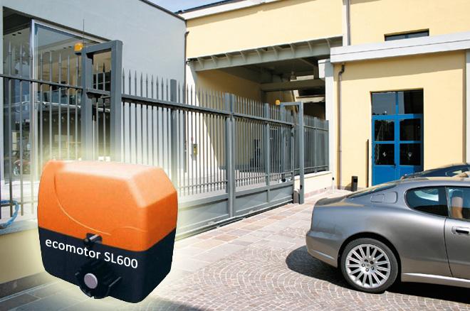 SL600 Μοτέρ για συρόμενες γκαραζόπορτες