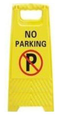 """Πλαστική πινακίδα """"No Parking"""" KBB-1"""