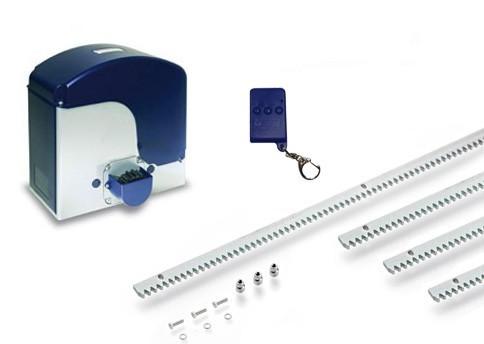 Μοτέρ για συρόμενες αυλόπορτες έως 1400 κιλά Genius Falcon m14 Basic Kit