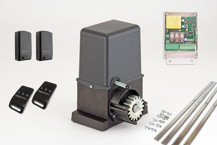 Σετ μηχανισμού για συρόμενες αυλόπορτες βάρους έως 400kg GR ITALIA 400 - KIT FULL