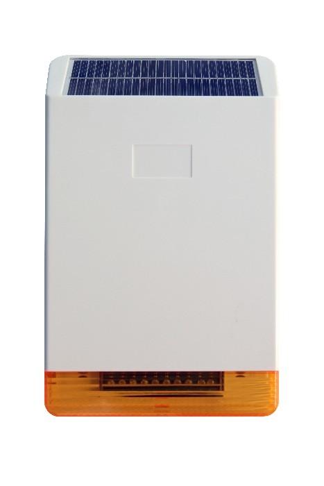 Σειρήνα μεγάλη ασύρματη φωτοβολταϊκή με φλας και μπαταρία FOCUS MT-DMD324R για το σύστημα Mtech