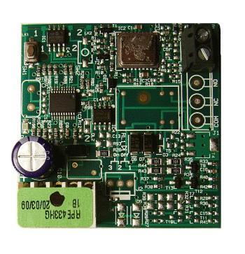 Δέκτης ασύρματου τηλεχειρισμού GENIUS RPE433HG