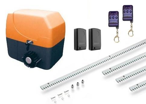 Μοτέρ για συρόμενες αυλόπορτες έως 600 κιλά Ecomotor SL600 Full Kit