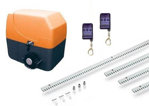 Μοτέρ για συρόμενες αυλόπορτες έως 600 κιλά Ecomotor SL600 Medium Kit