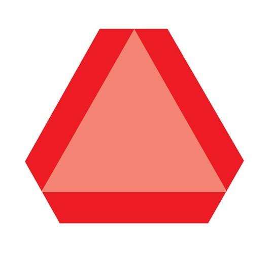Πινακίδα αναγνώρισης βραδυκίνητων οχημάτων SSL-03