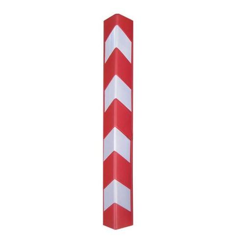 Πλαστική γωνιά προστασίας μήκους 80cm κόκκινη RCG-80