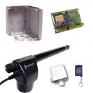 Μηχανισμός για μονόφυλλες ανοιγόμενες πόρτες Genius EuroBat 500 Basic Kit 1L